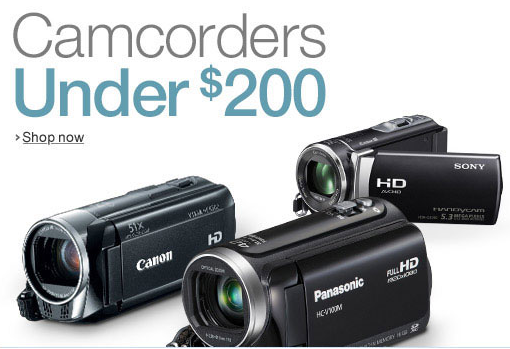 camcorders for recruiting videos